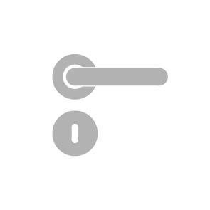 sLINE Rosettengarnitur aus Aluminium - Linie 50