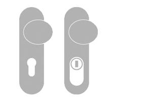 sLINE Wechselschutzgarnitur aus Aluminium - Linie 50