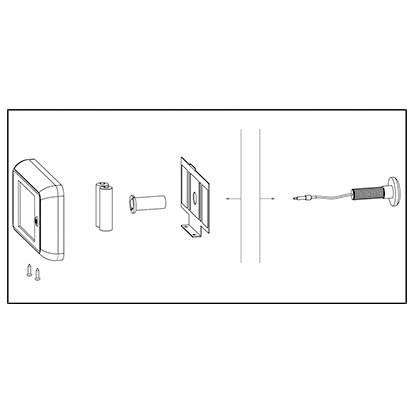 sLINE Türzubehör - Aufbau elektrischer Türspion