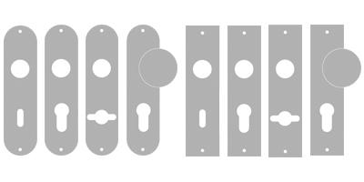 sLINE Einzelteile aus Aluminium - Langschilder