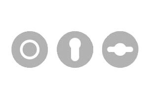 sLINE Objekt- und Feuerschutzbeschläge - Rosetten für Objektgarnituren