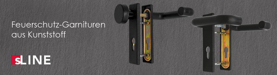 Die neuen sLINE-Feuerschutzgarnituren aus Kunststoff