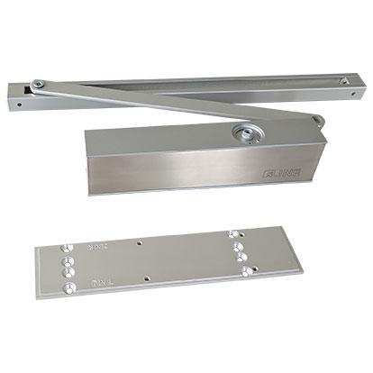 Türschließer TS3 von sLINE mit Montageplatte