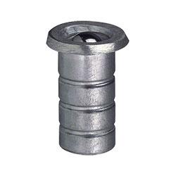 Bodenbuchse mit Kugel-Schmutzverschluss für Stangenverriegelung von sLINE