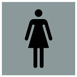 sLINE Hinweiszeichen Frauen