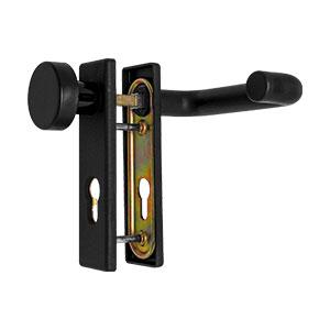 sLINE Feuerschutz-Kurzschildgarnitur Kunststoff 12410WE
